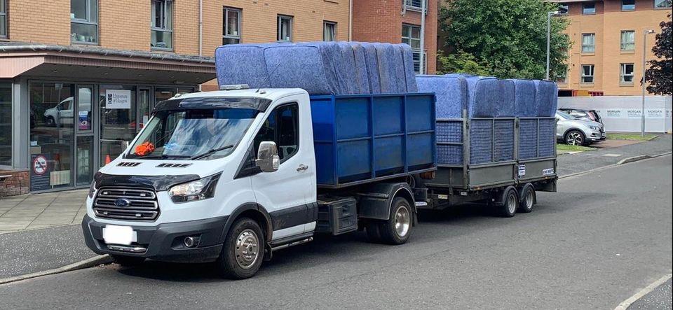 matress-recycling-pickup-van